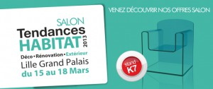 Salon Tendances habitat 2013, portes garage SMF Services