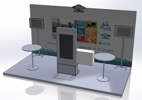 Stand SMF Services salon H'Expo
